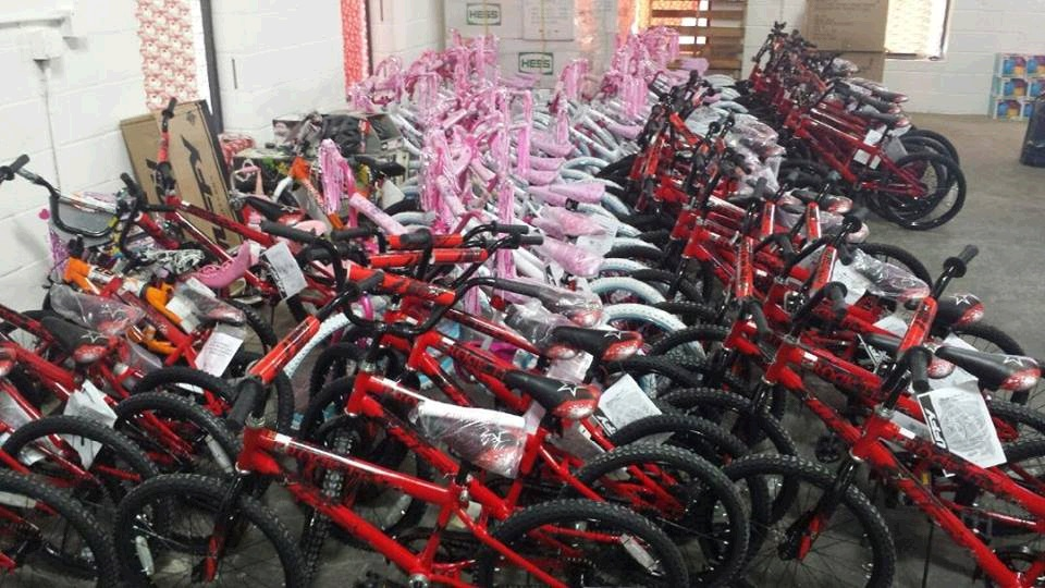 Bicycle Giveaway 2015
